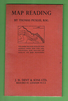 #Mm.   1961  Map Reading Booklet