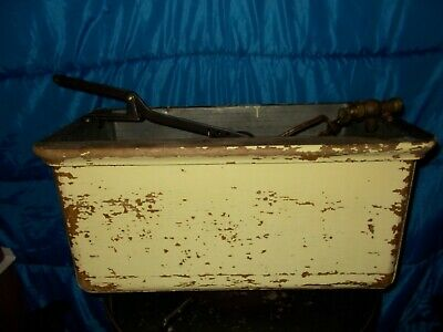 Antique Water Closet Tank Oak Wood Ryan Fill Valve Toilet Tank