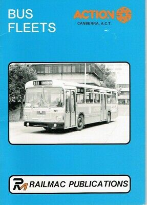 Canberra Buses Action Bus Fleet