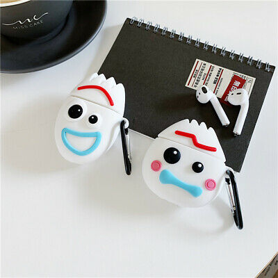 For Apple AirPods Wireless Bluetooth Earphone Cute Forky Toy Story Silicone Case