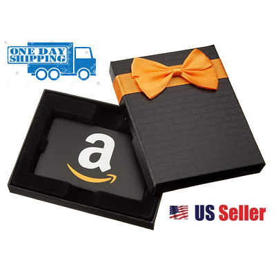 $100 NEW AMAZON Gift Card Ships FREAKY FAST! Guaranteed by Paypal w/ NO Worries