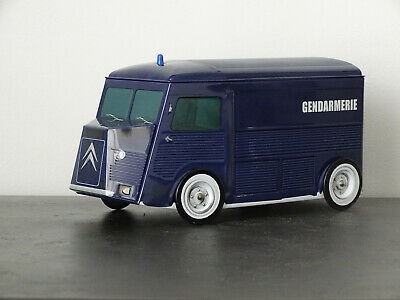 BOITE A BISCUITS GÂTEAUX 20 CM POLICE CAMION CITROËN HY H TUBE