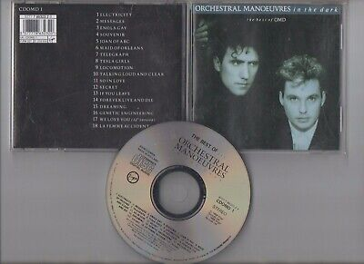 Orchestral Manoeuvres In The Dark ~The Best Of Omd~ (Cd) ***Free P&P***