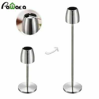 Floor Ashtray Stand Stainless Steel Portable Metal Windproof Smoking Accessories