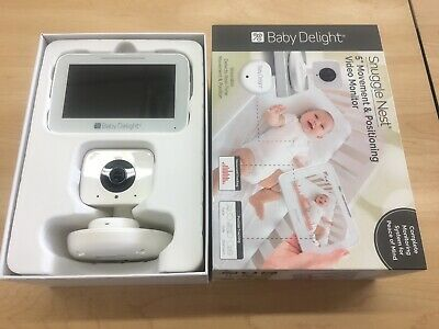 """Baby Delight Snuggle Nest 5"""" Movement & Positioning Video Monitor Camera System"""