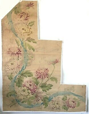 Beautiful 19th Century French Floral Painting   (W148)