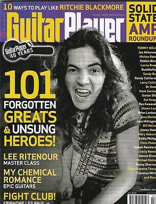 Guitar Player Mag Making 101 Forgotten Greats & Heroes February 2007 100219nonr