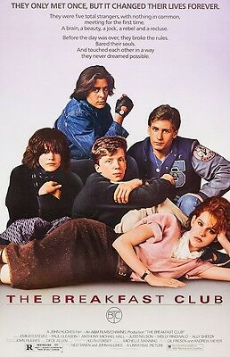 The Breakfast Club movie poster - 11 x 17 inches Molly Ringwald, Emilio Estevez