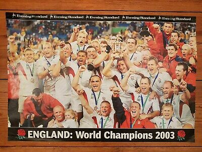 2003 Rugby World Cup  Winners Poster