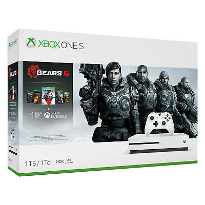 Xbox One S 1TB Console - Gears 5 Bundle [Brand New]