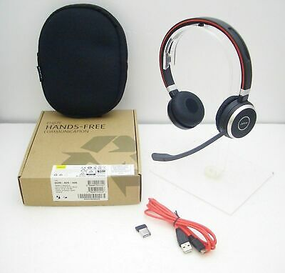 Jabra Evolve 65 Wireless Bluetooth Uc Mono Headset 124 99 Picclick Uk