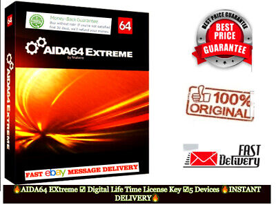 AIDA64 EXtreme 🔥License Life Time 🔥( Dawnload+key Global)  ✔INSTANT DELIVERY✔