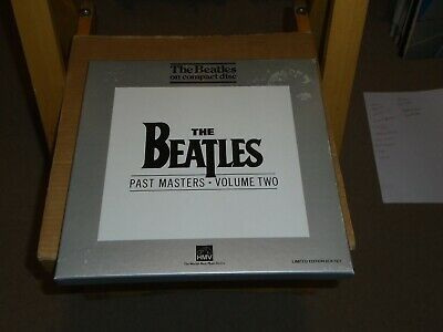 The Beatles Past Masters Volume Two Cd Box Set With Badge And Booklet.hmv.