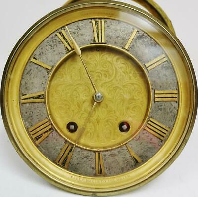 Very Rare Antique English Charles Frodsham London Bell Striking Movement & Dial