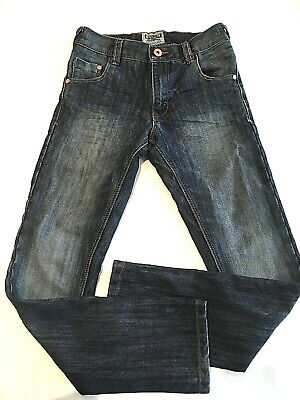 Boys Next Jeans Age 10 Height 140cm Elasticated waist adjustable casual VGC used