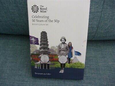 CELEBRATING 50 YEARS OF THE 50p INC .KEW GARDENS.2019 THE ROYAL MINT UK ONLY