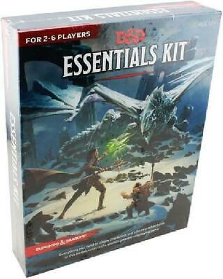 Dungeons & Dragons Essentials Kit Near Mint Dungeons & Dragons AD&D D&D YW1