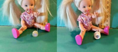 Barbie Doll 1:6 Miniature Toy Yo Yo for Kelly Tommy