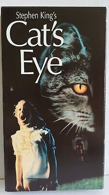Cats Eye VHS Tape Horror Drew Barrymore James Woods Stephen King 1985