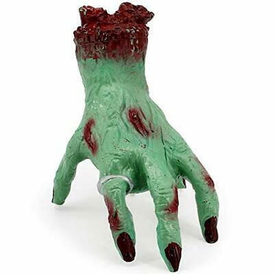 LUKAT Halloween Decoration Hand, Zombie Crawling Cut Off Hand Scary Bloody Crawl