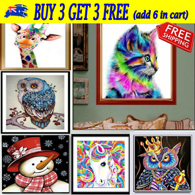 5D Diamond Painting Embroidery Cross Craft Stitch Pictures Kit Mural Decor JOYCE