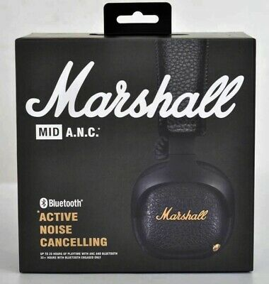 Casque Marshall MID ANC Bluetooth (Active Noise Cancelling) Black Headphones