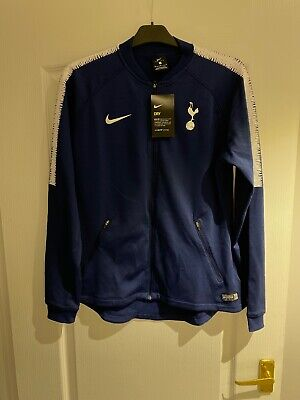 100% Official Nike Spurs Matchday Tracksuit Top 2018/19 - M Femme
