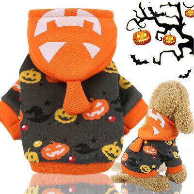 Pet Dog Warm Clothes Puppy Costume Decoration For Halloween Christmas Decor UK