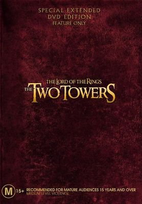 The Lord Of The Rings - The Two Towers (Extended Edition, 2-Disc Set) DVD NEW