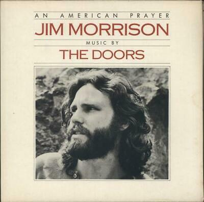 Doors An American Prayer - EX vinyl LP album record UK K52111 ELEKTRA 1978