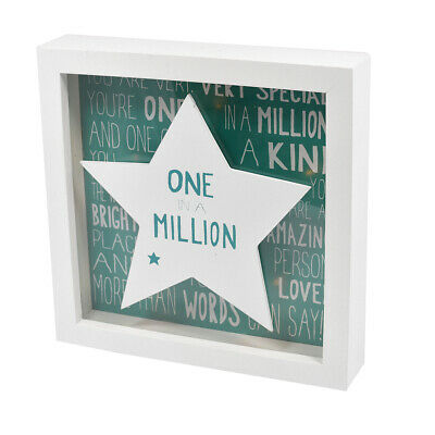 Message Of Love One In A Million Light Up Box Frame Lovely Gift Idea