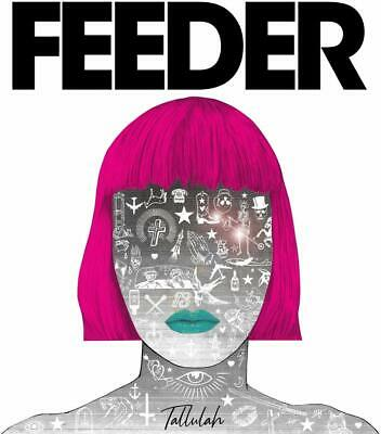 Feeder Tallulah Deluxe Edition Cd New Sealed Casebook Bookpack Packaging