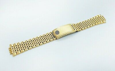 20mm Omega Watch Beads of Rice Solid Stainless Steel Replacement Bracelet