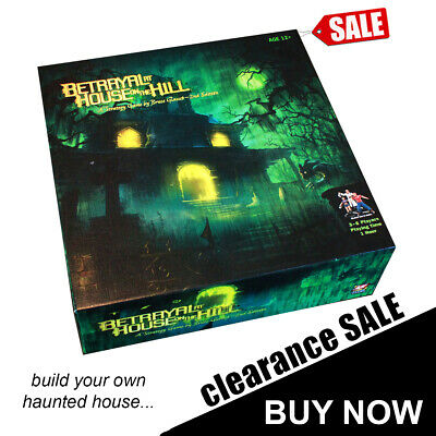Betrayal At The House On The Hill Board Game Brand New