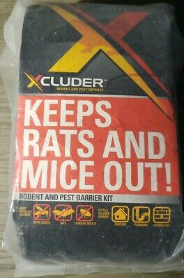 """Xcluder Rodent Pest Control Fabric Fill Mesh Barrier Gap Filler """"ONLY """""""
