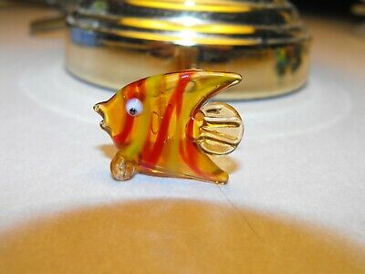 Hand Blown Tropical Fish Figure