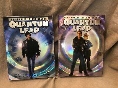 Complete 1st And 2nd Season Quantum Leap DVD Tv Series Discs Lot of 2
