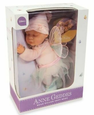 Anne Geddes Bean Filled Collection Pink Fairy Baby Doll Christmas Gift Girls Toy