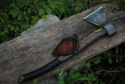 Custom Handmade Steel Battle Axe
