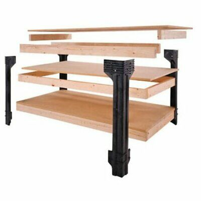 Excellent Work Bench Table Kit Garage Heavy Duty Shelves Wooden Lamtechconsult Wood Chair Design Ideas Lamtechconsultcom