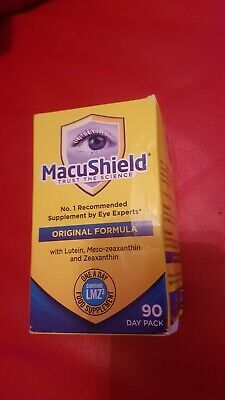 Macushield Capsules - Pack of 90 UK's most recommended eye supplement