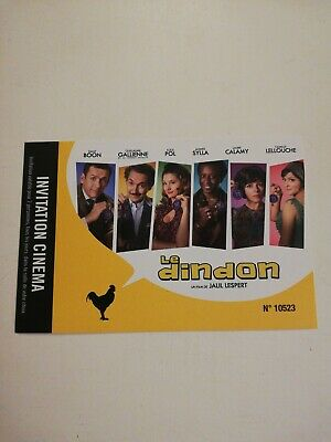 "2 PLACES DE CINEMA ""Le Dindon"""