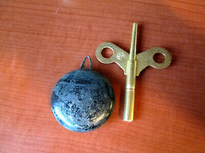 "Vintage  1-3/4"" Seth Thomas Pendulum With Key for Mantle Clock (535C)"