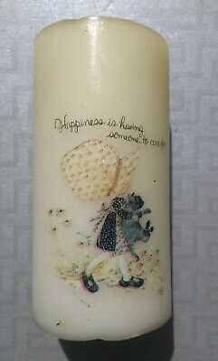 Large Holly Hobbie Candle, Never Used, Rare Collectible