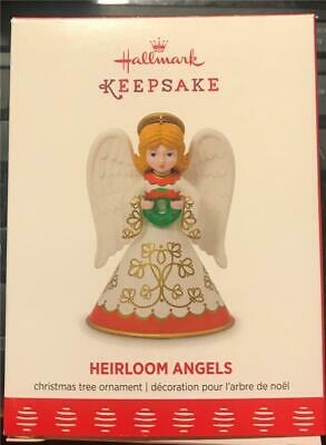 Hallmark  2017 Heirloom Angels Christmas Tree Ornament New in Box