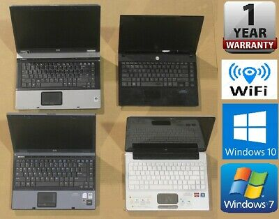 CHEAP FAST DUAL CORE LAPTOP WINDOWS 7 or 10 OS, 3GB 4GB RAM WITH WARRANTY