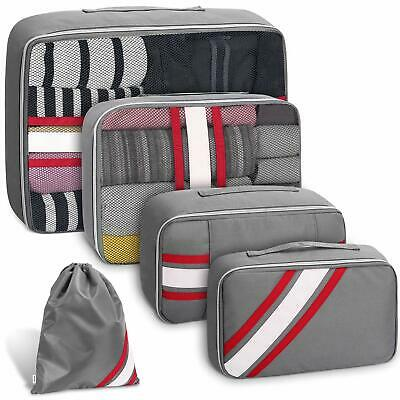 Packing Cubes for Travel Set 5Pcs,  Luggage Packing Organizers with Laundry Bag