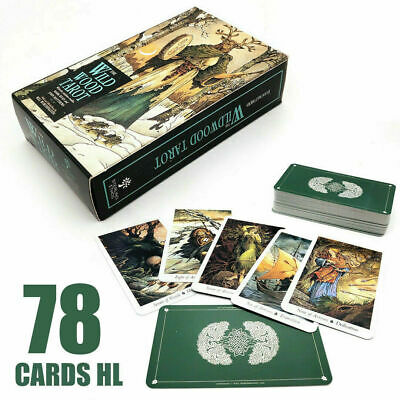 78 Cards Set Wild Wood Tarot Cards Christmas Gift Beginner Deck Fortune Telling