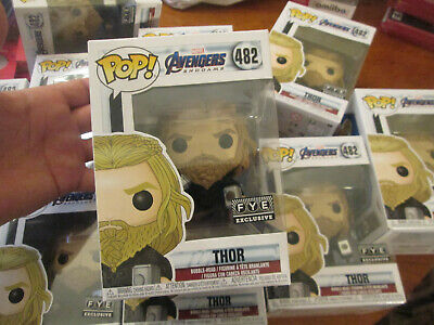 Funko Pop Marvel Avengers Endgame Thor # 482 Exclusive Fye 2019