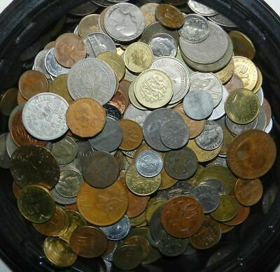 300 (plus)  MIXED WORLD COINS